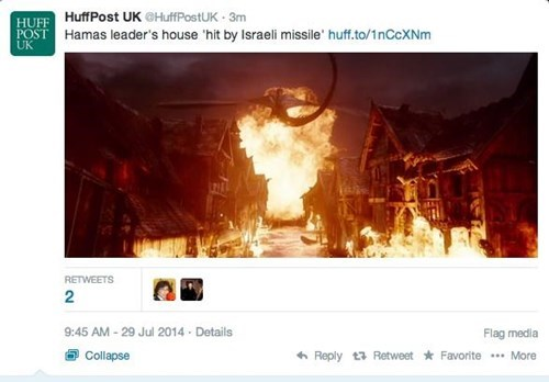 twitter news facepalm The Hobbit - 8271279104