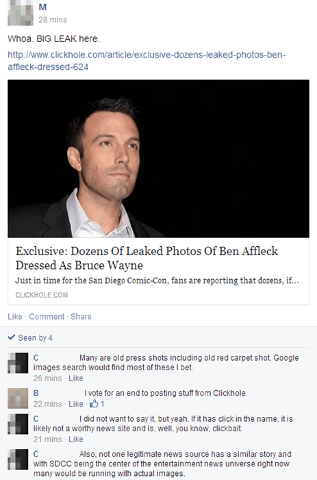 the onion satire ben affleck batman - 8271335168