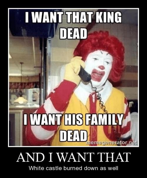 Ronald McDonald,McDonald's,burger king,funny