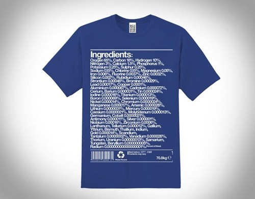 poorly dressed elements t shirts ingredients - 8271472128
