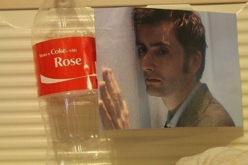 rose tyler,coca cola,10th doctor