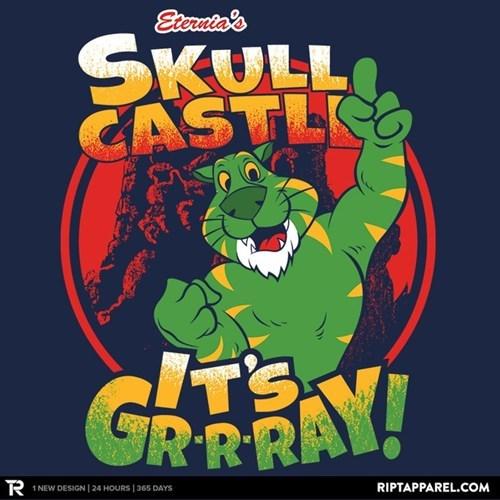 castle grayskull,tshirts,he man
