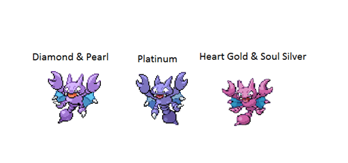 Pokémon colors gligar - 8271608064