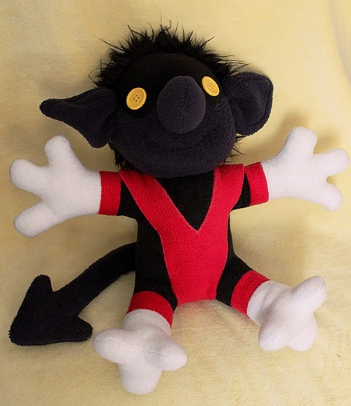 nightcrawler Plush x men - 8271609600