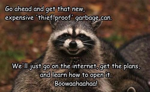 smart garbage raccoons - 8271813120