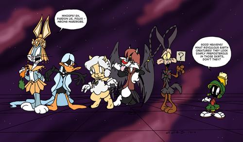 crossover looney tunes anime Fan Art sailor moon cartoons - 8271981824