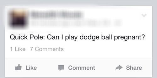bad idea dodge ball pregnant failbook g rated - 8272654848