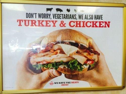 chicken Turkey vegetarians food - 8272669696