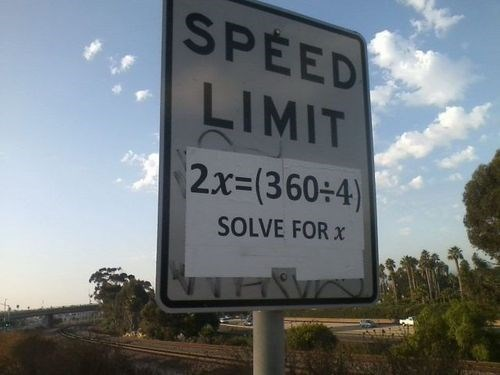 driving speed limit