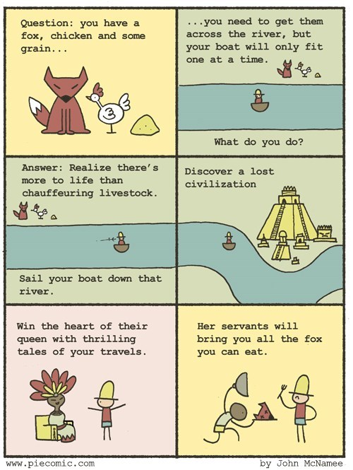 foxes chickens riddles web comics - 8272683776