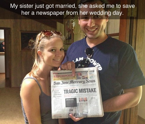 marriage tragic wedding funny g rated dating - 8272697600