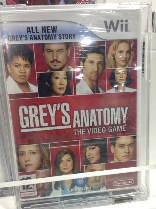 Greys Anatomy wtf whyyyyyyyyyyy video games wii - 8272714752