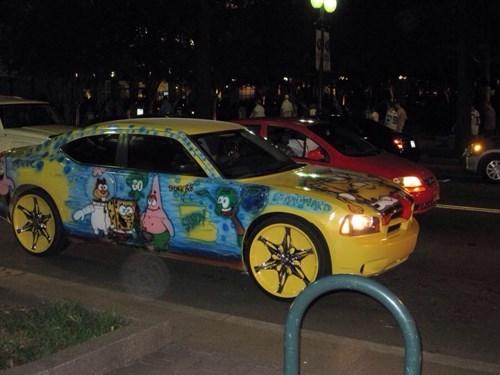 SpongeBob SquarePants cars cartoons - 8272743424