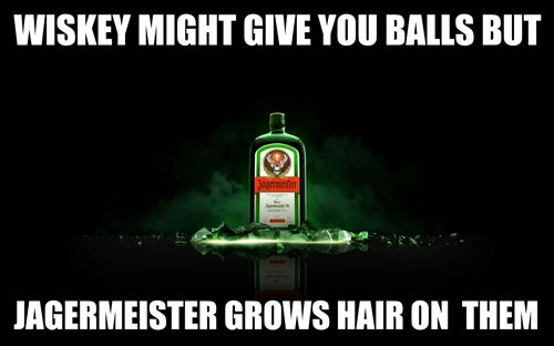 whiskey jagermeister funny - 8272756224