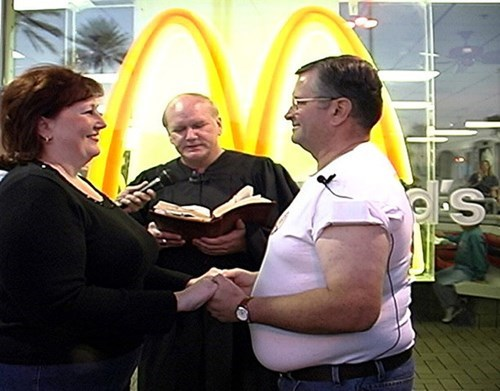 marriage,McDonald's,weddings
