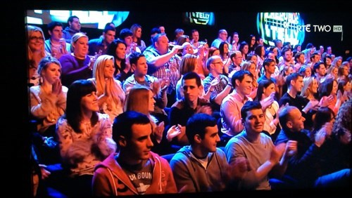 On Irish TV You Can Drink in the Audience