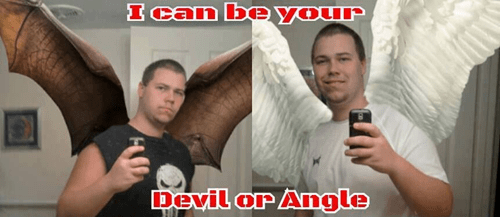 angels angle selfie - 8273116416
