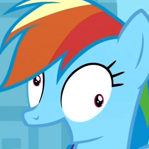Fan Art derp rainbow dash - 8273484032
