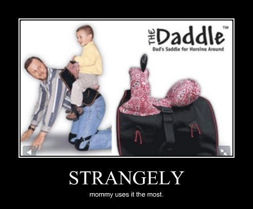 daddy,saddle,mommy,funny