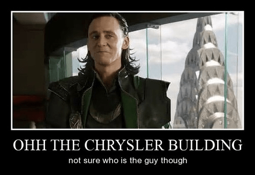loki,chrysler builder,funny