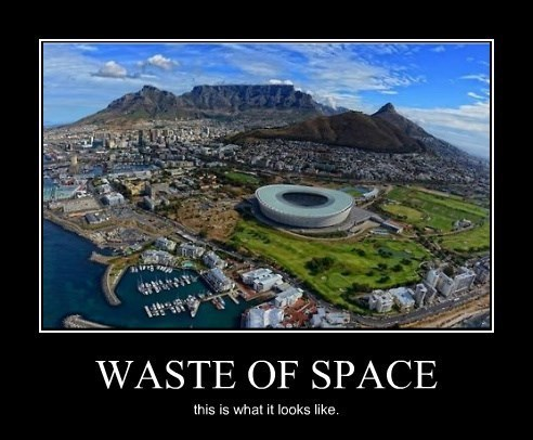sports stadium waste of space funny - 8273779712