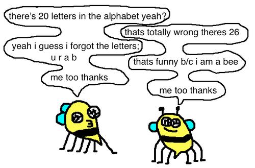 puns bees web comics - 8273793280