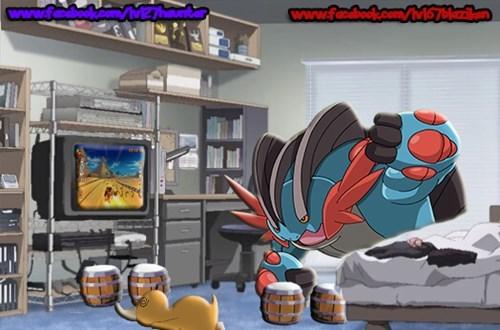 donkey kong donkey kong barrel blast mega swampert - 8273796864