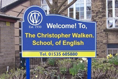 school english christopher walken funny