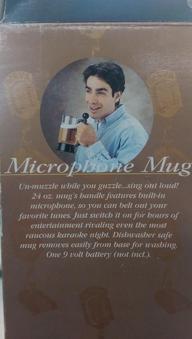 microphone,karaoke,idiots,mug