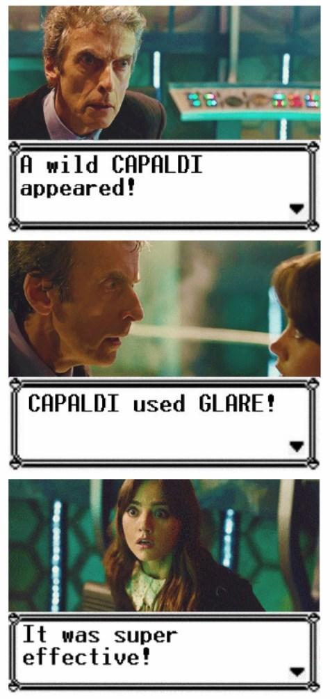 clara oswin oswald 12th Doctor pokemon logic - 8273935104