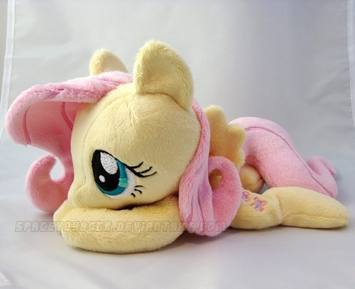 Fan Art,Plush,fluttershy,squee