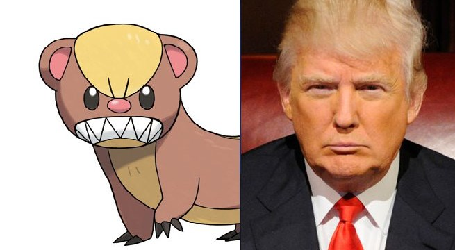 Pokémon donald trump pokemon sun and moon political pictures funny - 827397