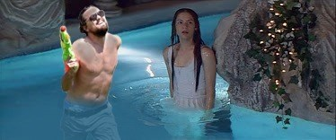 list,leonardo dicaprio,summer,water gun,photoshop battle
