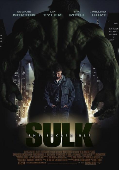Sad posters the incredible hulk - 8274831360