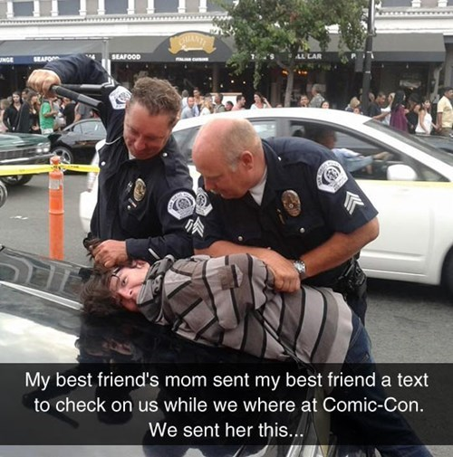 cops police SDCC San Diego Comic Con 2014 - 8274832896