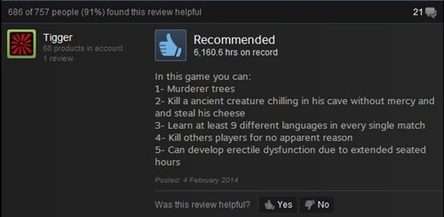 reviews,steam reviews