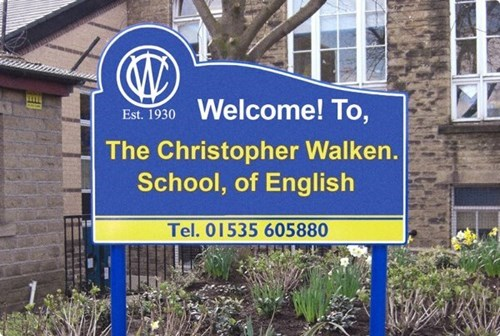 christopher walken,english,funny,school