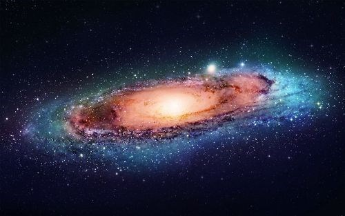 andromeda dark matter galaxy science - 8274887936