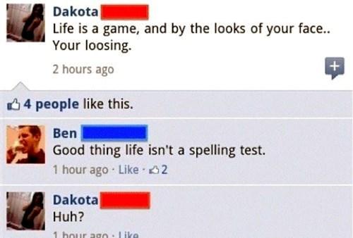 facebook,spelling