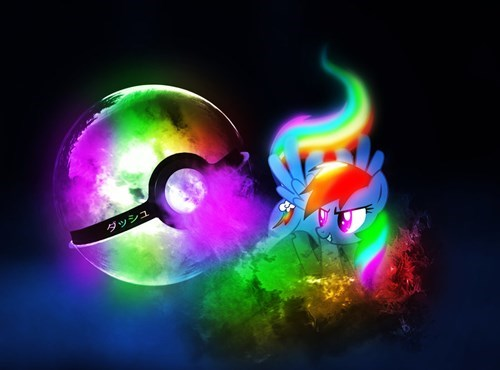 rainbow dash,pokemon type