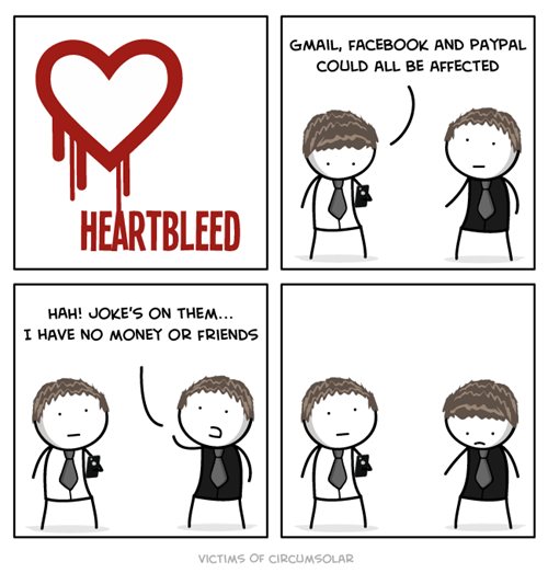sad but true virus heartbleed web comics - 8275015680