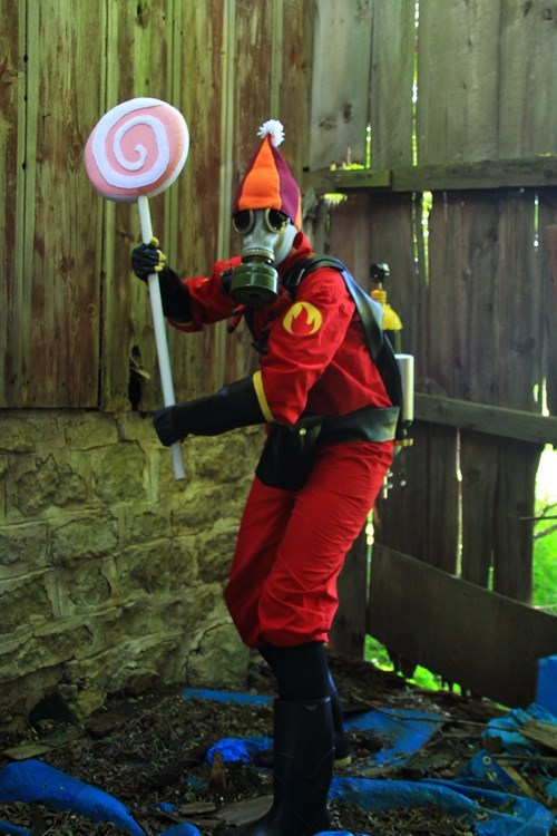 cosplay Team Fortress 2 pyro - 8275075840