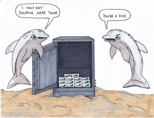 dolphins dad jokes puns web comics - 8275088128