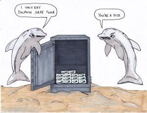 dolphins dad jokes puns web comics - 8275088128