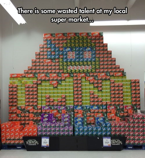 grocery stores,TMNT