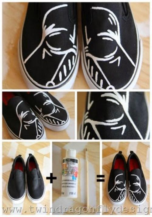 crafts,darth vader,shoes