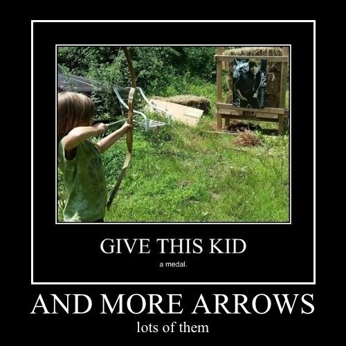 kids,bow,arrows,funny,justin bieber