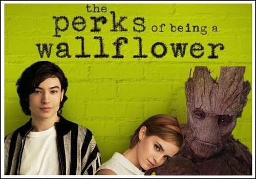 guardians of the galaxy,perks of being a wallflower,groot