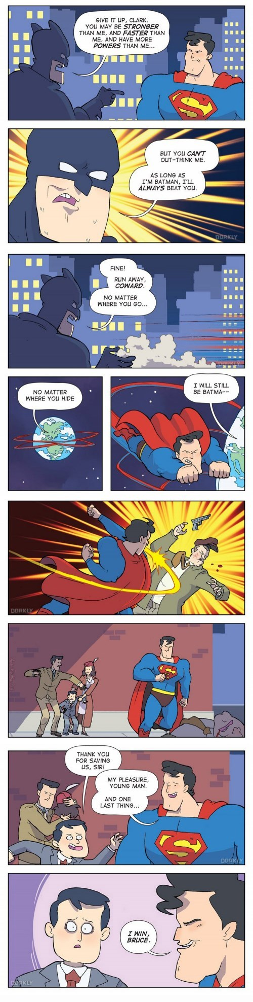 Batman v Superman,time travel,web comics