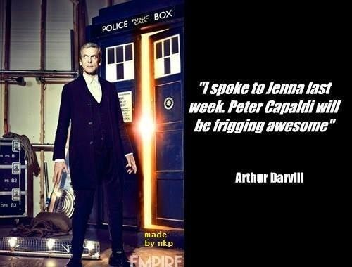 12th Doctor,arthur darvill